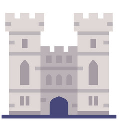 Windsor castle flat vector