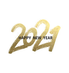 2020 new year cart 2020 new year vector image