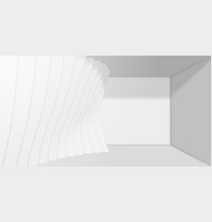 Abstract architecture background 3d vector