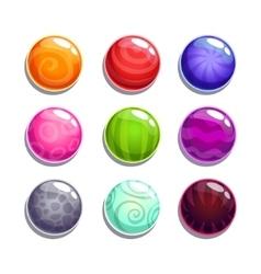 Bubbles set vector image