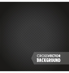 cross background black vector image