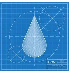 Drop icon Eps10 vector