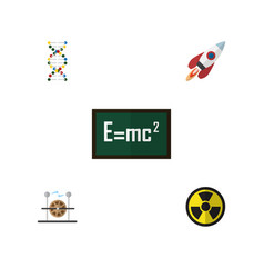 Flat science set of theory of relativity vector