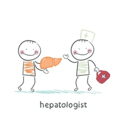 Hepatologist cured patient liver vector