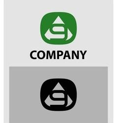 Number 9 logo logotype design vector