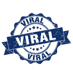 Viral stamp sign seal vector