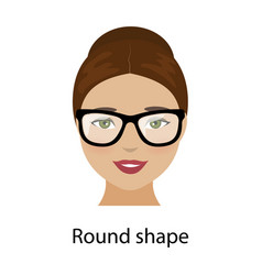 woman face shapes vector image