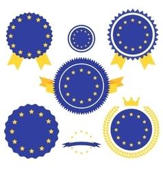 World Flags Series Flag of European Union vector image