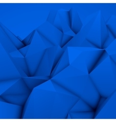 Blue Abstract Polygonal Background vector image vector image