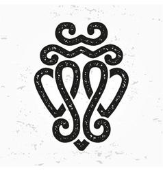 Luckenbooth brooch design element Vintage vector image vector image