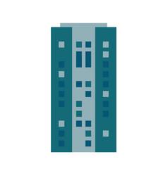building urban skyscraper estate vector image