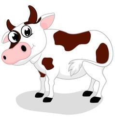 Cow Farm cartoon vector image vector image