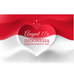 Banner august 17 independence day indonesia vector