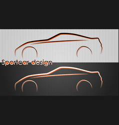 cars backgrounds vector image