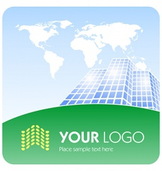 corporate logo vector image