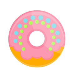 donut isolated icon vector image