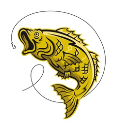 game fish vector image