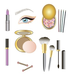 Make up details vector