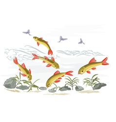 Small-fish vector