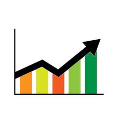 Stats point logo design template element design vector