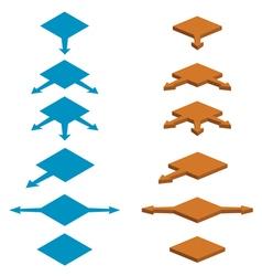 strelki vector image