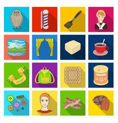 Tourism ecology business and other web icon in vector