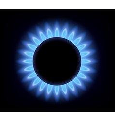 gas burner vector image vector image