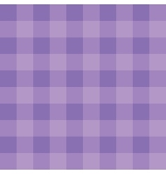 Purple checkered cloth vector image vector image