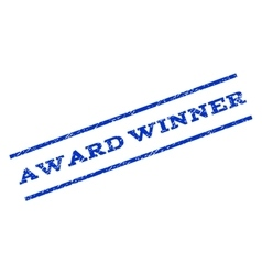 Award Winner Watermark Stamp vector
