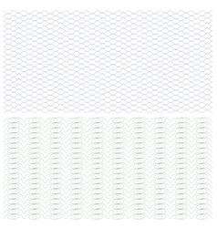 background certificateguilloche pattern vector image