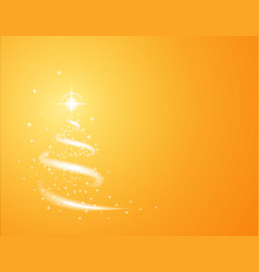 christmas golden background for new year project vector image