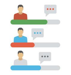 Customer services vector