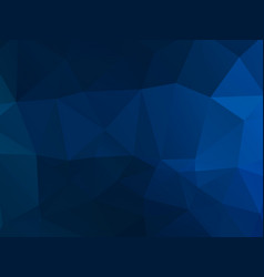 dark blue mosaic triangle pattern vector image