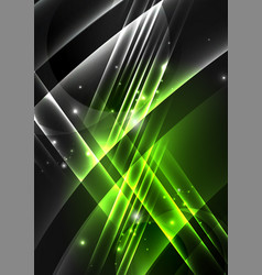 Glowing futuristic lines vector