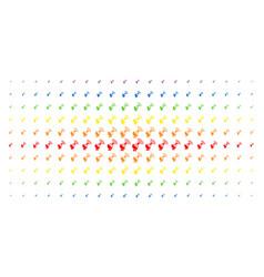 Radio transmitter spectral halftone matrix vector