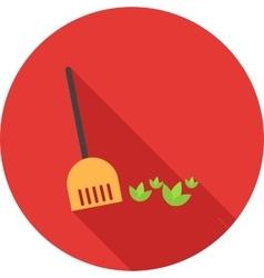 Sweep leaves vector