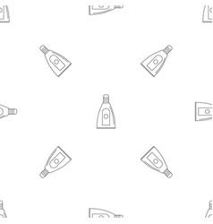 Uv bottle pattern seamless vector