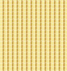 Wavy gold pattern vector