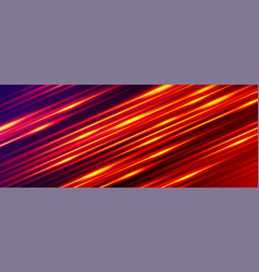 Wide gaming background glowing line light vector