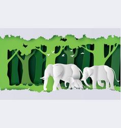 World elephant day vector