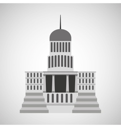 capitol building design vector image