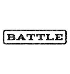 Battle watermark stamp vector