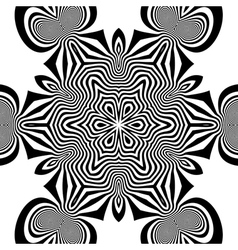 Black and White Background vector image vector image