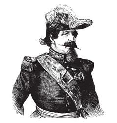 Napoleon iii vintage vector