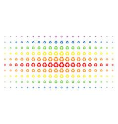 Recycle arrows spectral halftone matrix vector