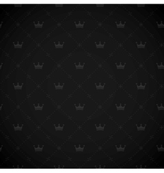 seamless royal background vector image vector image