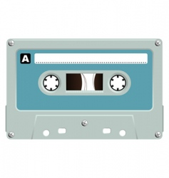 audio cassette vector image vector image