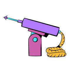 fishing speargun icon icon cartoon vector image vector image