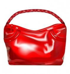girl handbag vector image