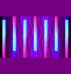 Background with blue violet illumination vector